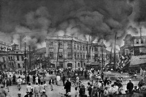 旅行,観光,東京駅,第一次世界大戦,関東大震災,災害.大正,