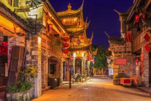 中国 西南部1(重慶と四川省)