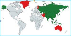 世界旅行計画ランキング(全358か所)