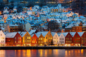 (の) ノルウェーの名所